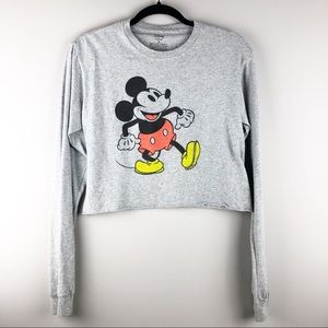 Mickey Mouse Disney Crop Top - Size Small